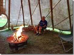 Dad in Tipi